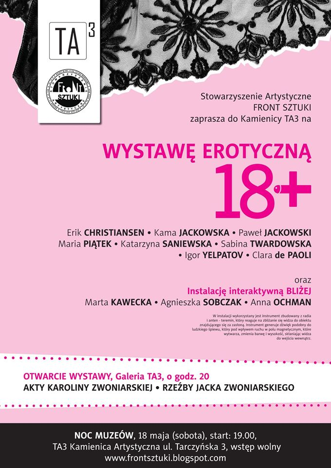 18+ plakat