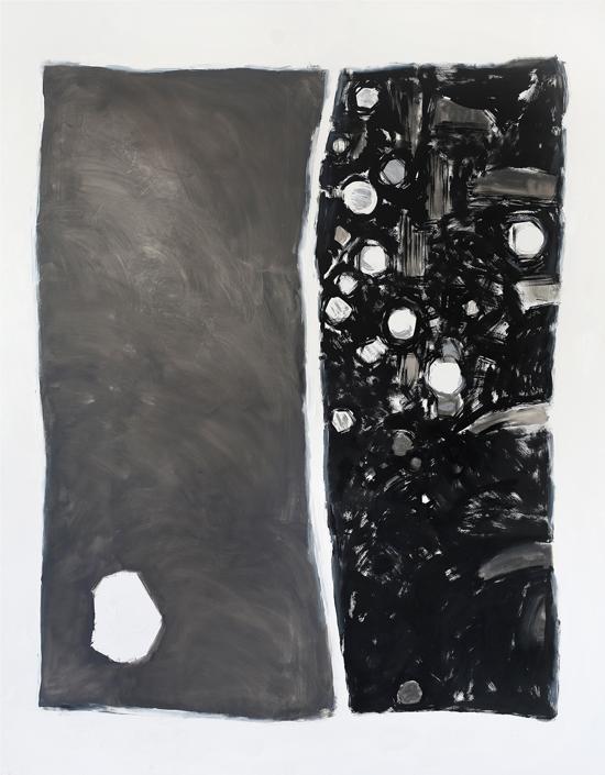 Marta Kawecka Dwa, 190x150cm, olej na płótnie, 2014