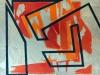 Marta Kawecka_Escape room 3_160x180cm_olej na płótnie_2018