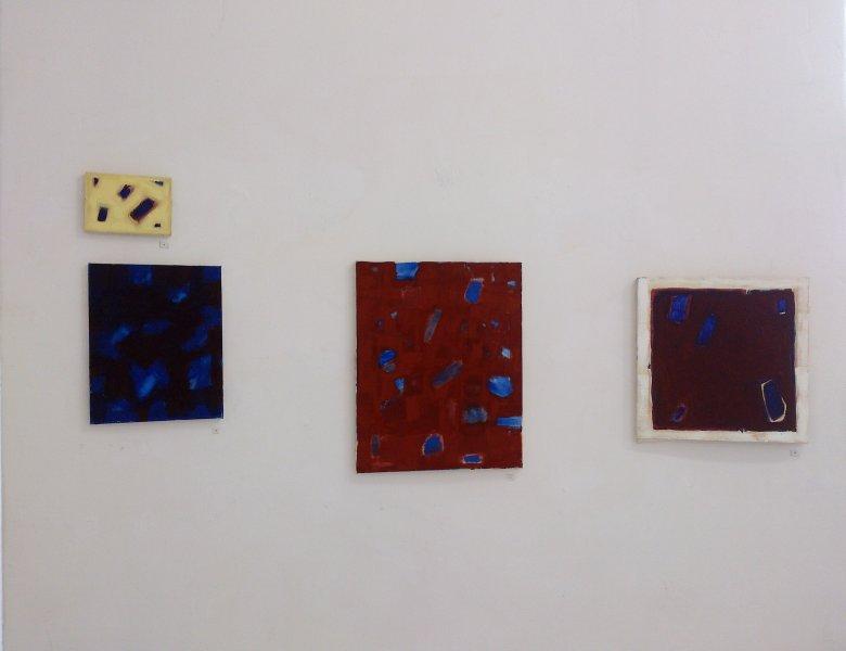 Marta Kawecka (od)tworzone 9/10/11/12, 13x18cm/35x28cm/70x50cm/50x50cm,olej na płótnie, 2015
