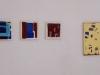 Marta Kawecka (od)tworzone 5/6/7/8, 25x25xm/25x25cm/25x25cm/70x50cm,olej na płótnie,2015