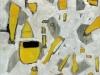 Marta Kawecka Fragmente 2, Öl auf Leinwand, 2014